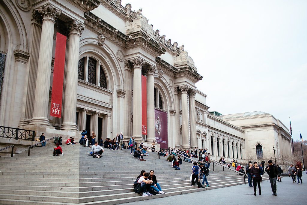 Metropolitan Museum of Modern Art NYC proposal photographer