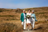 california seaside wedding