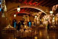 wedding reception decor riverside church