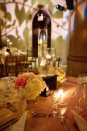 wedding reception decor tablescape