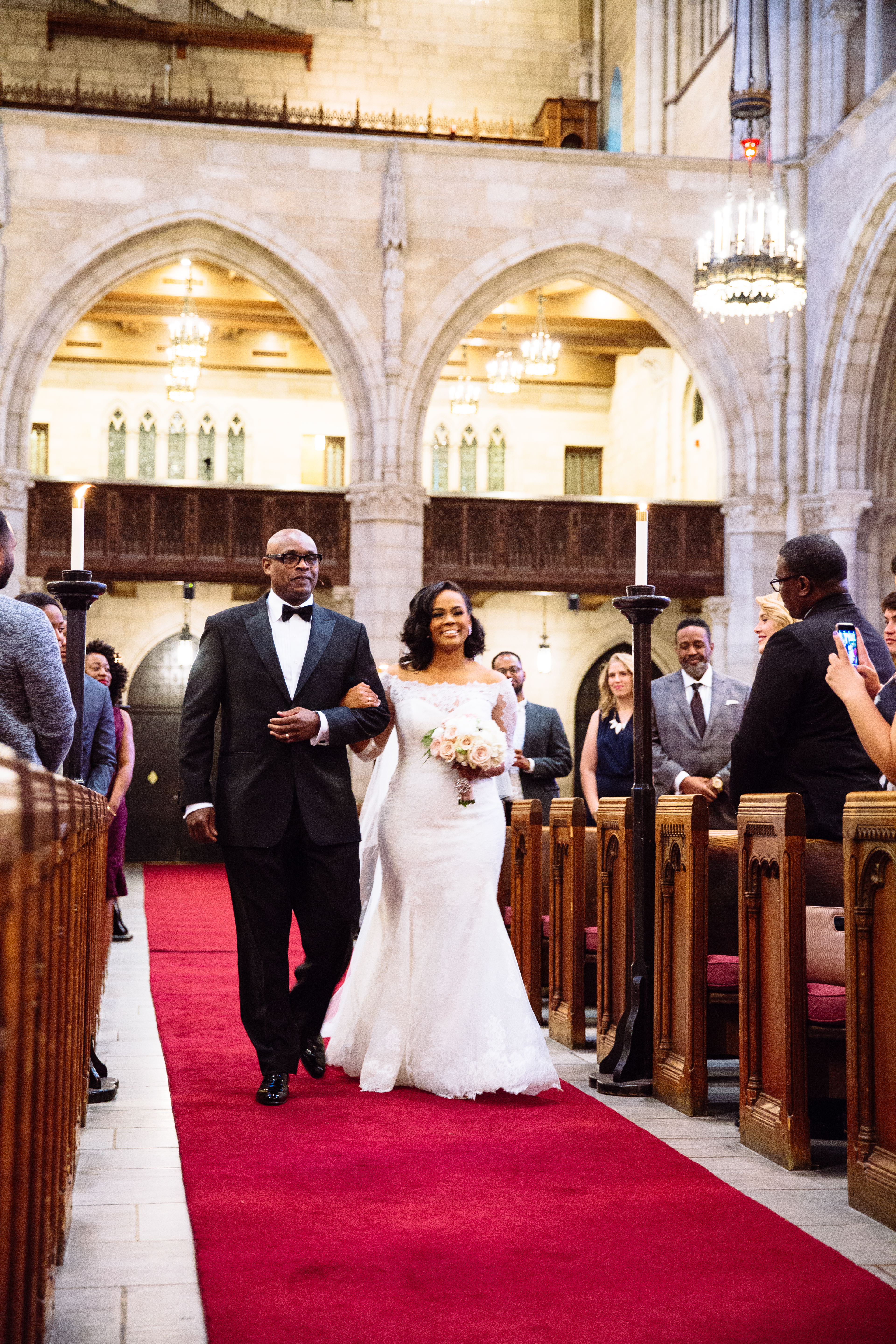 Riverside Church ceremony