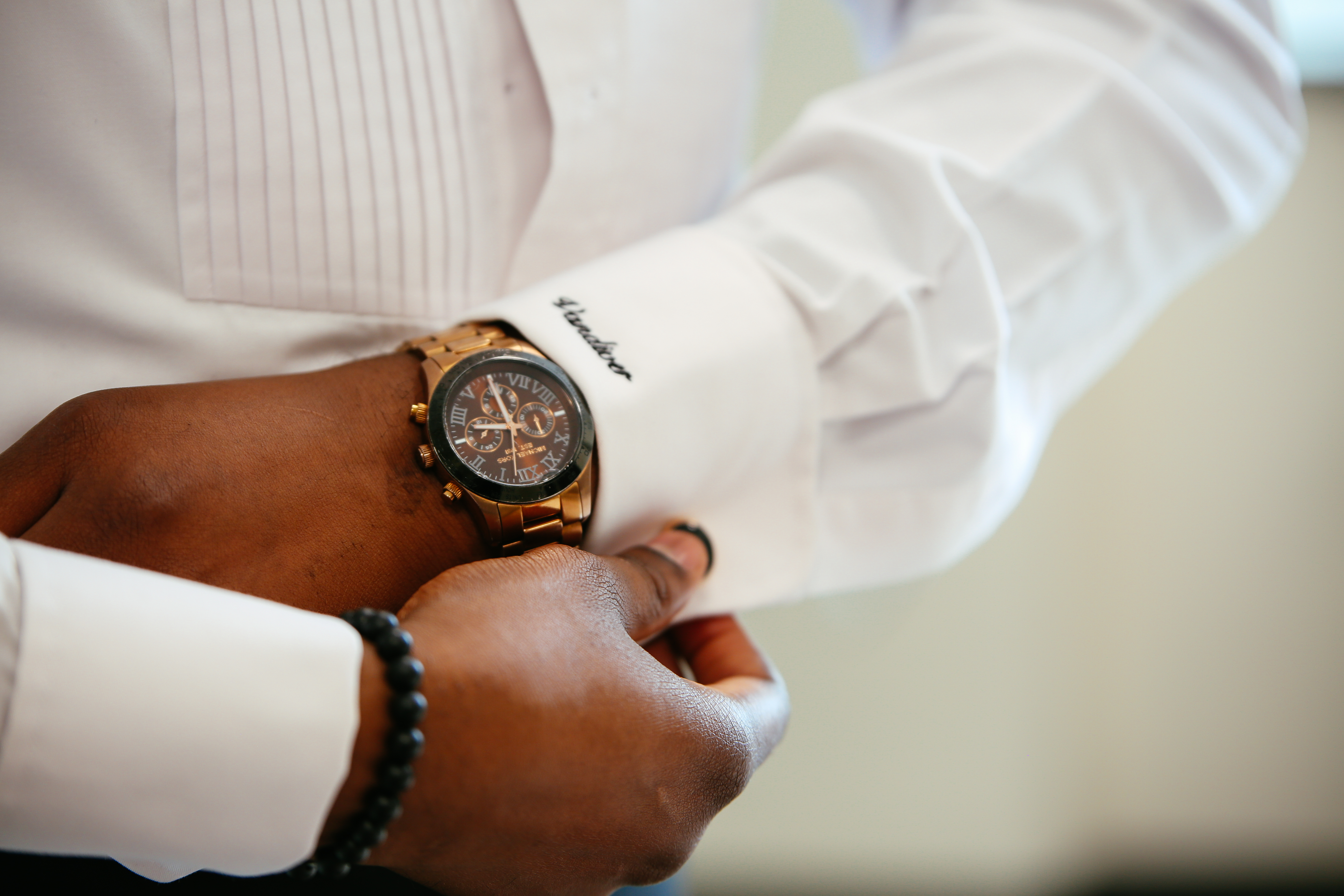 groom details watch tailor